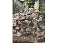 FREE Hardcore - Mix of Bricks, Cement & Slate - Take as much as you like - Top Soil also available!