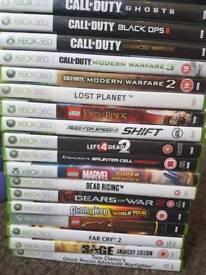 Xbox 360 games job lot