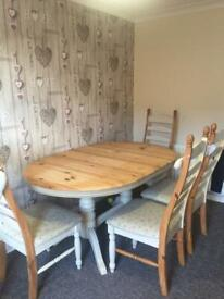 381fd1b2d5 Argos Home Kentucky Extendable 4 - 6 Seater Table - Two Tone | in ...