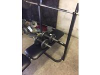 Weights an bench