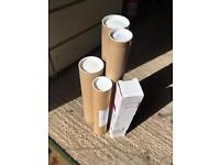 Poster / print postage tubes