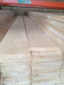 18mm x 120mm Sawn Timber 1.8mtr Lengths