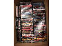 DVD job lot approximately 220