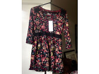 Women's Floral Top/Dress - Marks & Spencer's Size 12
