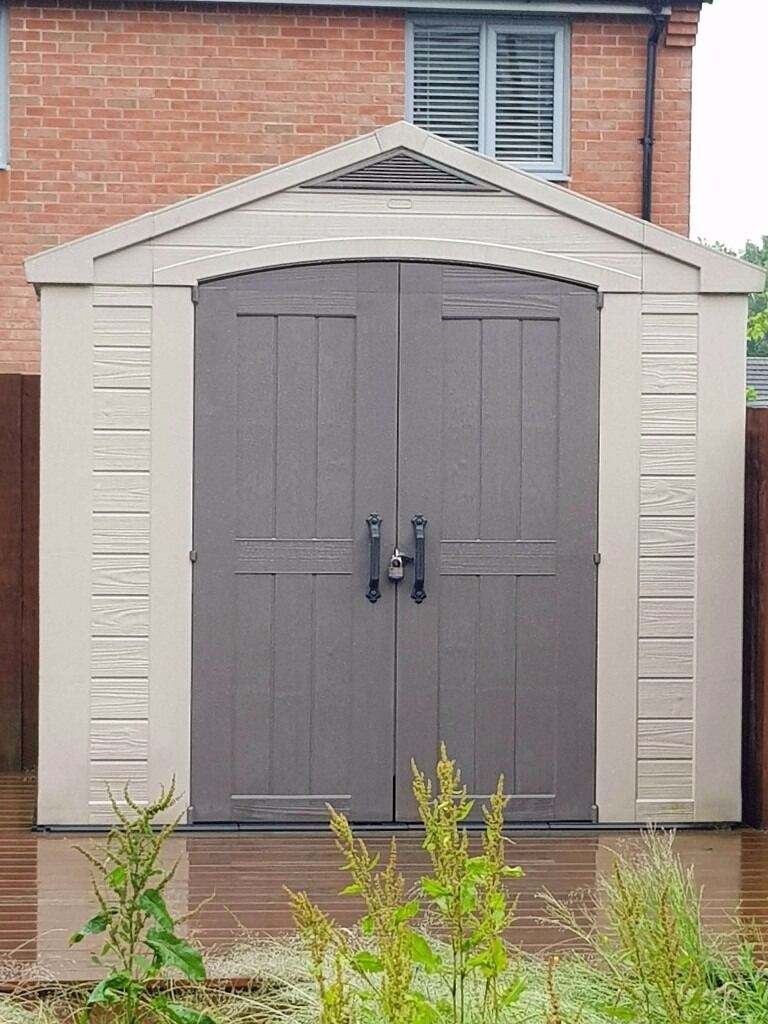 Garden Sheds Halifax garden shed (as new) a garden shed in a durable, hardwearing