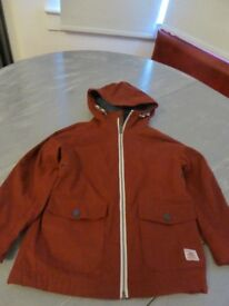 Deep Red/Burgundy Coat from Next - age 5