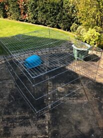 Outdoor pet cage