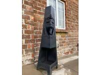 Patio heater large firepit