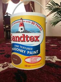 Masonry exterior paint £10, Bargain price!