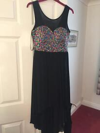 Glitter size 14 occasion party dress