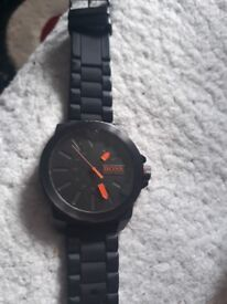 Mens hugo boss watch, used.