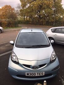 Toyota Aygo, 76316 Miles, £20 tax, Well looked after, Bluetooth, Alloys, Air Con, Economical