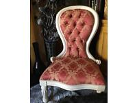 SPOON BACK CHAIR.