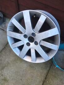 alloy wheel peugeot
