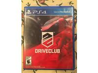 PS4 Driveclub game