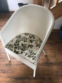 Blind Craft Wicker Chair Commode