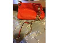 Orange Michael Kors Bag