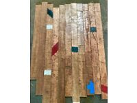 Reclaimed Utile Hardwood Flooring - 260 m2 in stock!