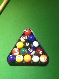 Old handmade snooker / pool table. Good condition.