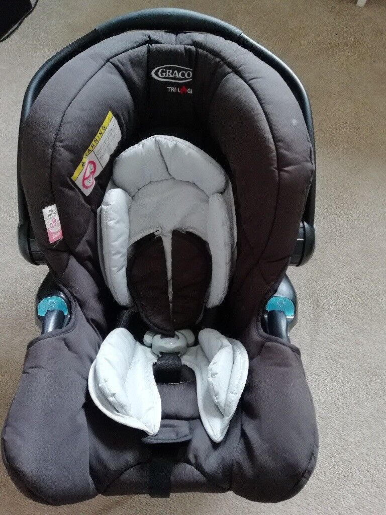Graco TriLogic 0 Car Seat And Adapter