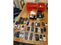 Joblot x32 phones