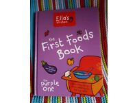Ella's kitchen First Foods Purple Cookbook
