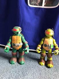 Talking TMNT figures