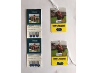 2x County Tickets Doncaster Ladies Day