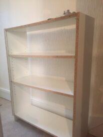 Free White IKEA Bookshelves