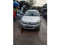 2005 Vauxhall Astra Breeze 5dr Hatchback 1.6L Petrol Silver BREAKING FOR SPARES