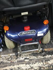 Mercury mobility scooter 6mph