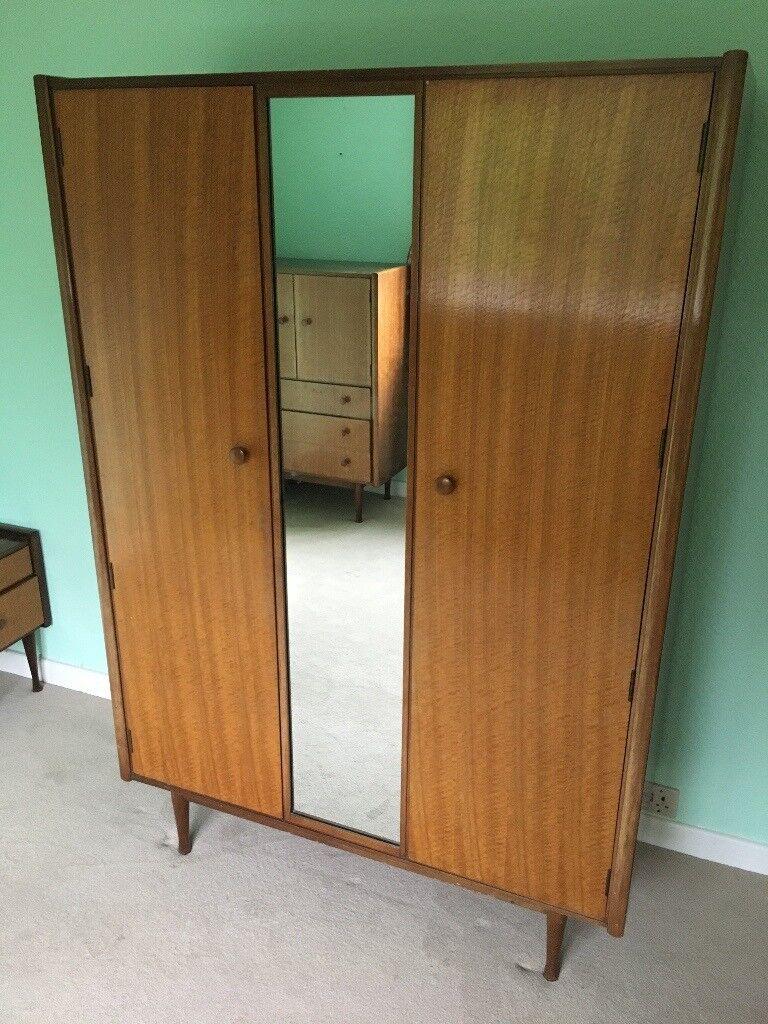 Bedroom Furniture Set Tola Satin Birch Wood Late 60 S