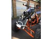 Bombardier ds 650 quad bike
