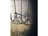 Triumph Team Leader 10speed Fast Road Bike xl 62cm Tough Hitensile Steel Frame Fast Maillard Wheels