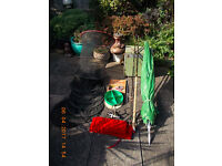garage clearance used fishing tackle
