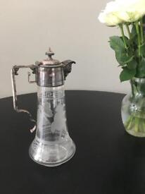 Claret jug antique