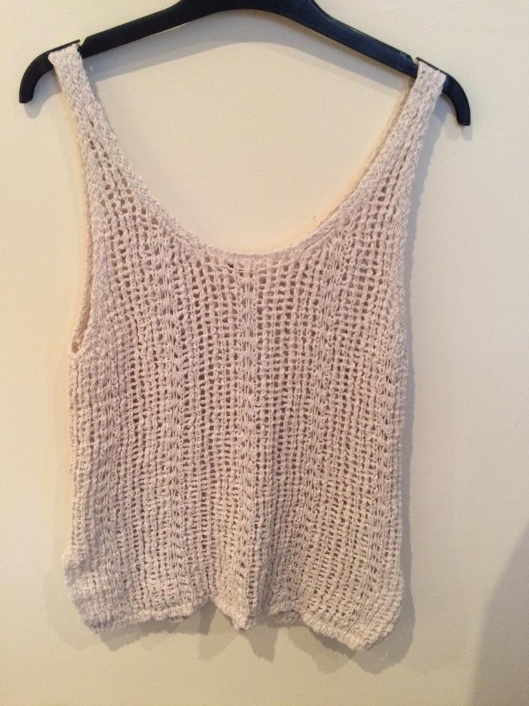 Womens Hollister Knitted Vest Top in Newcastle under  : 86 from www.gumtree.com size 768 x 1024 jpeg 96kB