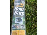 MAYPOLE Lockable Roof Bars for Cars with Roof Rails. Still in the rapper.