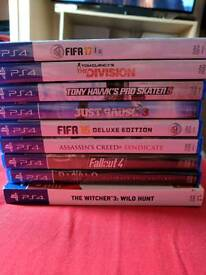Ps4 including games