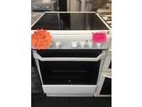 INDESIT 60CM CEROMIC TOP ELECTRIC COOKER