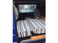 Triple seats / bed out of a T4 camper