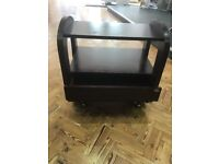 4 Wooden Beauty Trollies with Shelves and Drawer