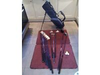 Howson Persona, full size, right handed golf set with bag.