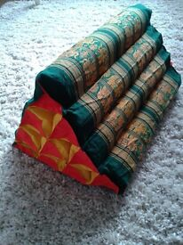 Thai Triangle Unfilled Cushion Covers - Various sizes and colours