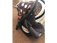 Cosatto 0+ car seat
