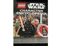 Brand New Star Wars Lego Character Book. Free Hansolo Lego Figure