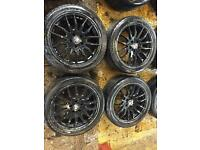 """17"""" ALLOY WHEELS FORD FOCUS MONDEO GALAXY SET OF 4"""