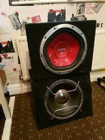2 subs for sale