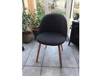 Stylish bedroom chair