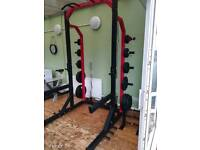 Bodymax commercial Half Squat Rack (weights and bars not included)